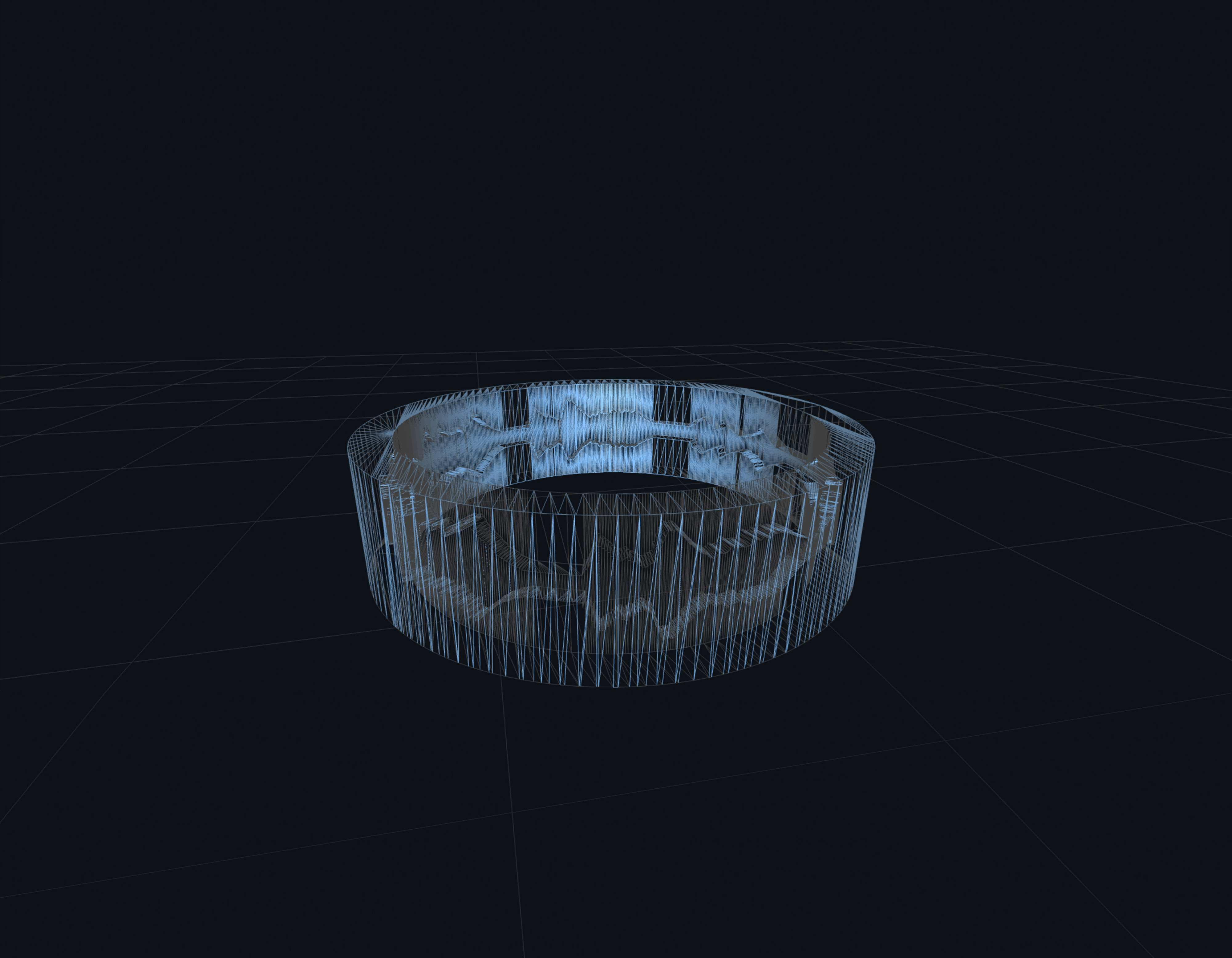 3d model of The Inner Wave ring by Golani